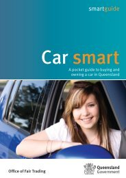 Car smart - Office of Fair Trading
