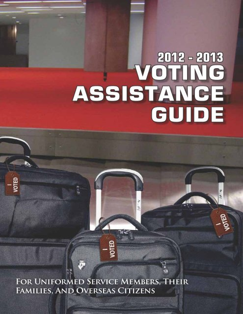 2012 13 Voting Assistance Guide United States Forces Korea