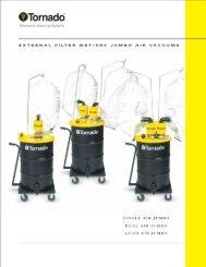 External Filter Wet/Dry Jumbo Air Vacuums - AgriLogistics