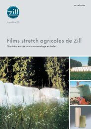 Films stretch agricoles de Zill