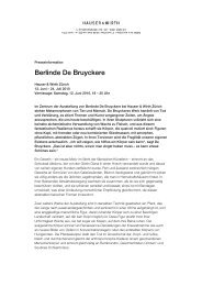 Berlinde De Bruyckere - Hauser & Wirth