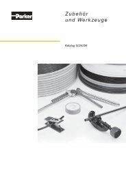 Zubehör und Werkzeuge - Siebert Hydraulik & Pneumatik
