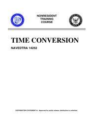 TIME CONVERSION Cryptologic Technician Training ... - CB Tricks
