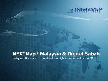 NEXTMap - Malaysia Geoportal