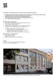 Büroflächen in Ateliergemeinschaft zu vermieten / St. Alban-Anlage ...