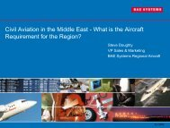 Civil Aviation in the Middle East - Regional-Services.com