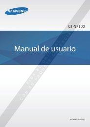Manual del Usuario Samsung Galaxy Note II