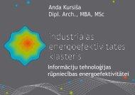 Industriālās energoefektivitātes klasteris un tā loma IKT tehnoloģiju ...