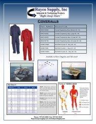 Coveralls - Rayco Supply, Inc.