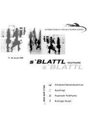 s'Blattl Jänner 2008