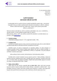 bližší podmínky - Ústav pro odborné zjišťování příčin leteckých nehod