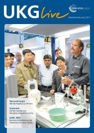 Mitarbeiterzeitung 3/2011 - in der Universitätsmedizin Greifswald