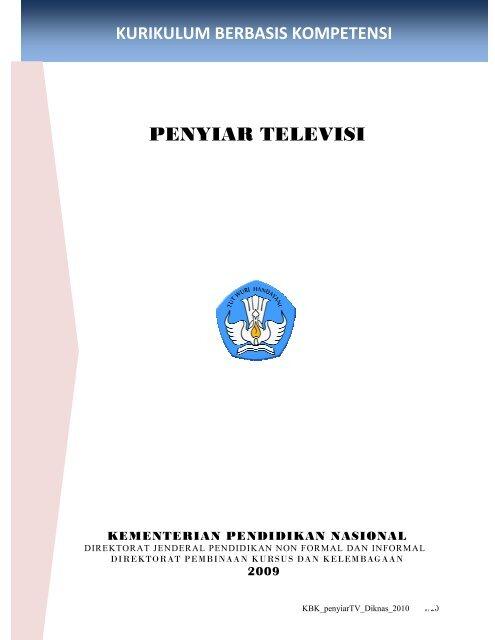 Kurikulum Berbasis Kompetensi Penyiar Televisi