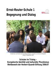 Dialog als Grundprinzip interkulturellen Lernens - Ernst-Reuter ...