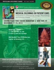 Medical Dilemmas in Patient Care December 17-19, 2010