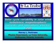 Presentation - tiger - La Trobe University