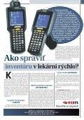 ro čn ík X II.,aug ust 2010 - Slovenská lekárnická komora - Page 7