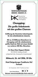25. Golfturnier der deutschen Wirtschaft - Wirtschaftsclub Rhein ...