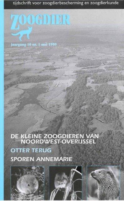 tijdschrift voor zoogdierbescherming en ... - Zoogdierwinkel