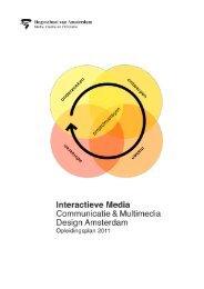 opleidingsplan 2011 (.pdf 2.1MB) - Hogeschool van Amsterdam
