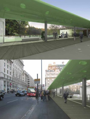 stanice metra green park - Architekt