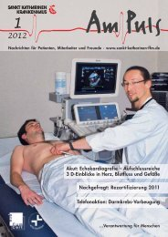 1/2012 - Sankt Katharinen-Krankenhaus