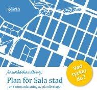 Plan för Sala stad - Sala kommun