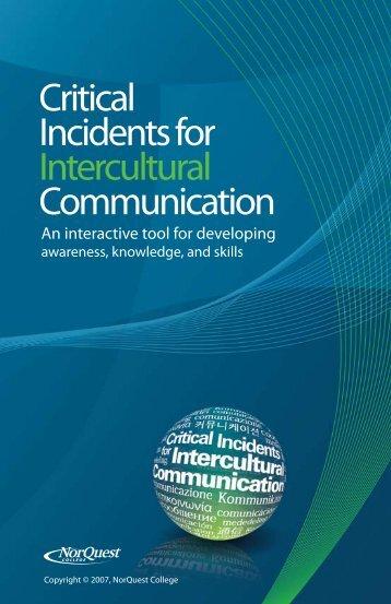Critical Incidents for Intercultural Communication - NorQuest College