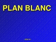 Plan Blanc - Secours-montagne.fr
