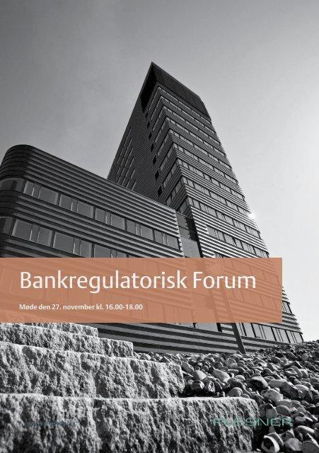 Bankregulatorisk Forum - Plesner
