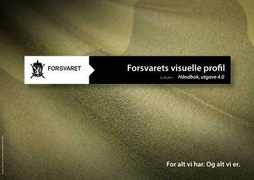 Forsvarets visuelle profil