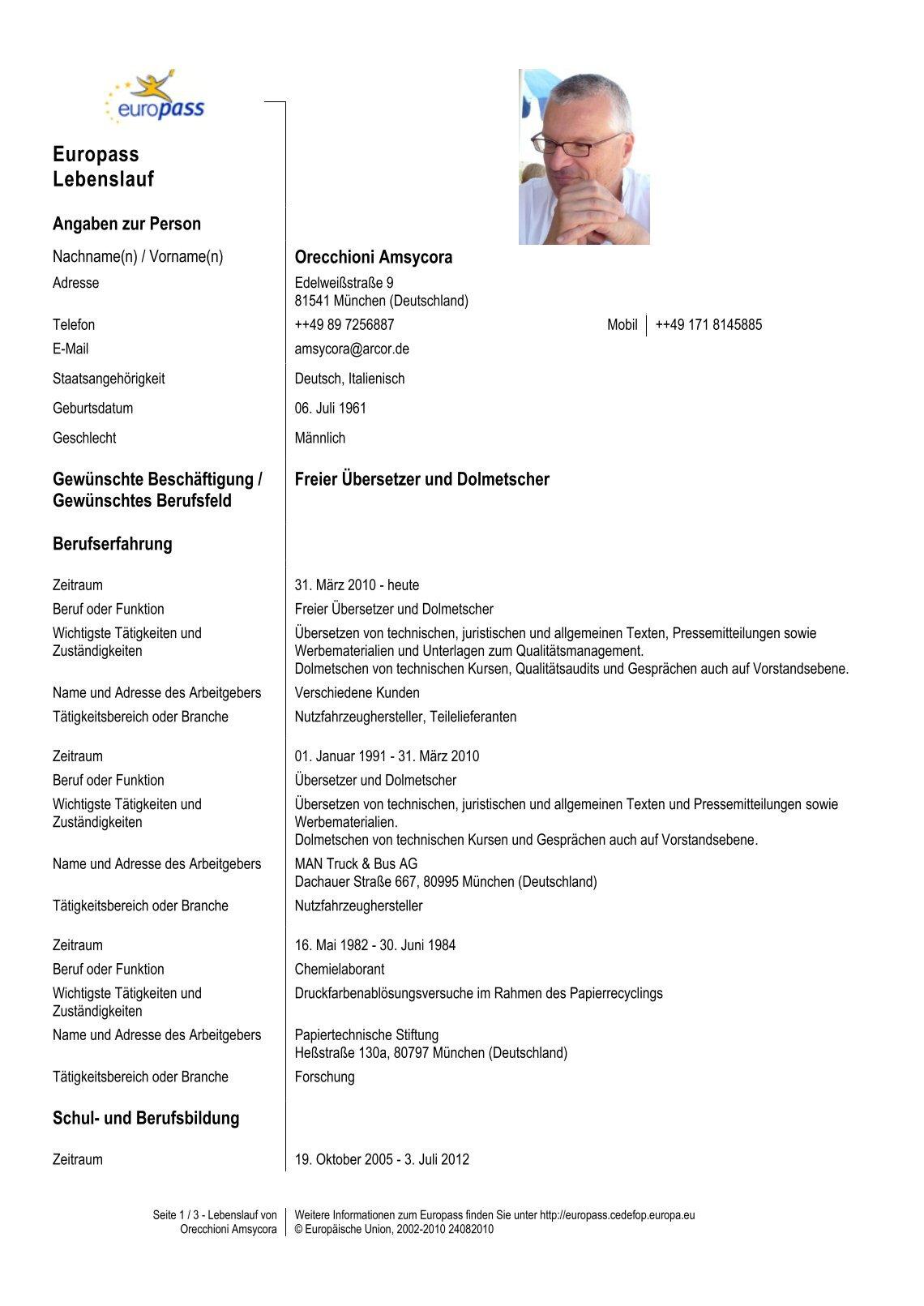 Niedlich 3 Verschiedene Lebenslauf Stile Fotos - Entry Level Resume ...