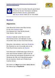 Studium - Behindertenbeauftragte der Bayerischen Staatsregierung ...