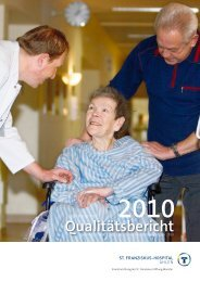 Qualitätsbericht 2010 - St. Franziskus Stiftung