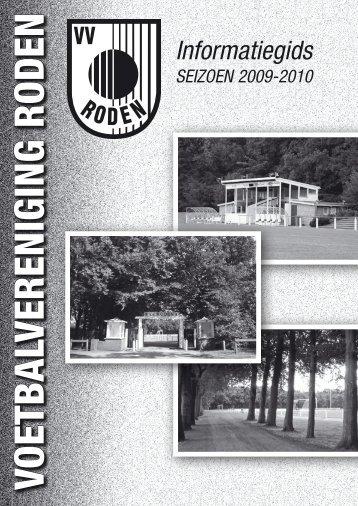 Informatiegids 2009-2010 - VV Roden