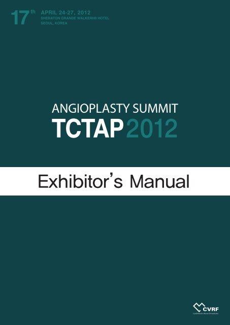 Exhibitor's Manual - tctap