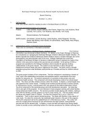 Board Meeting Minutes 10-11-12 (pdf) - NEMCMH.org