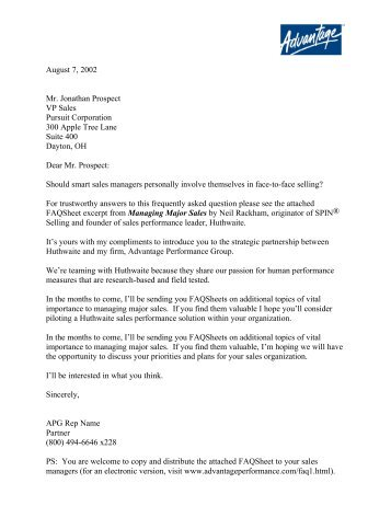 View Sample Cover Letter