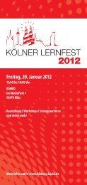 Freitag, 20. Januar 2012 - Stadt Köln