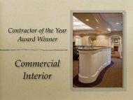 Commercial Interior - Gemmi Construction