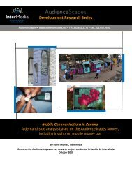 Development Research Series Mobile ... - AudienceScapes