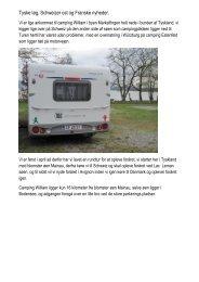 Tyske løg, Schweizer ost og Franske nyheder. - Hymer Klub Danmark