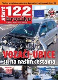 Povećan broj saobraćajnih nesreća u HNK-u Neriješena ubistva u ...