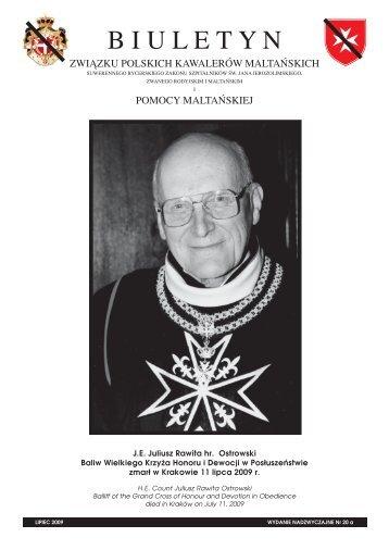 Nr.20a - Zakon Maltański Polska