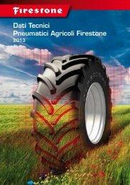 Dati Tecnici Pneumatici Agricoli Firestone