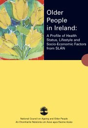 Older People in Ireland: A Profile of Health Status, Lifestyle and ...