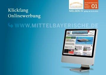 Klickfang Onlinewerbung