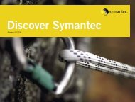 Editorial Discover Symantec - Eval.veritas.com