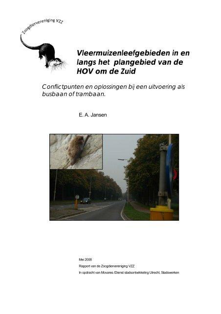 2008.11 Vleermuizen trambaan Utrecht_0.pdf - Zoogdierwinkel