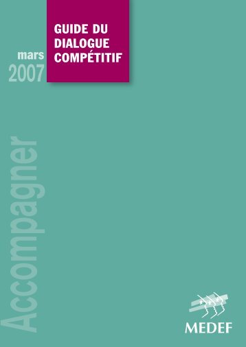 Guide du dialoGue compétitif - Syntec ingenierie